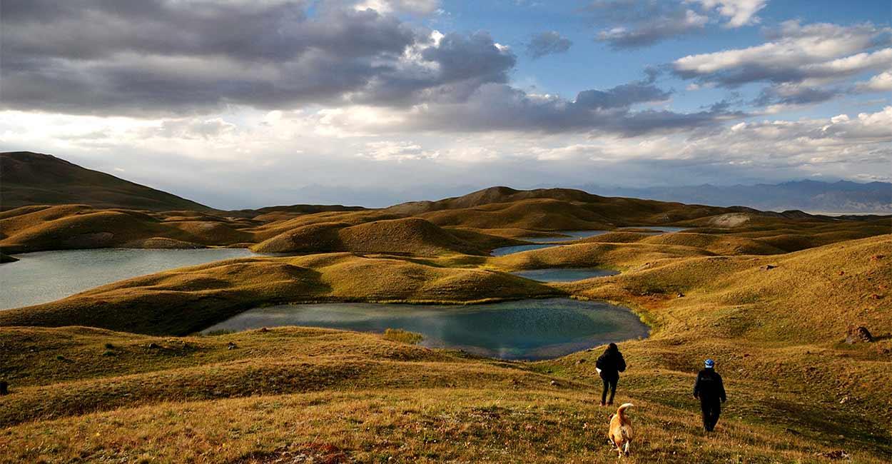 Turismo activo en Kirguistán
