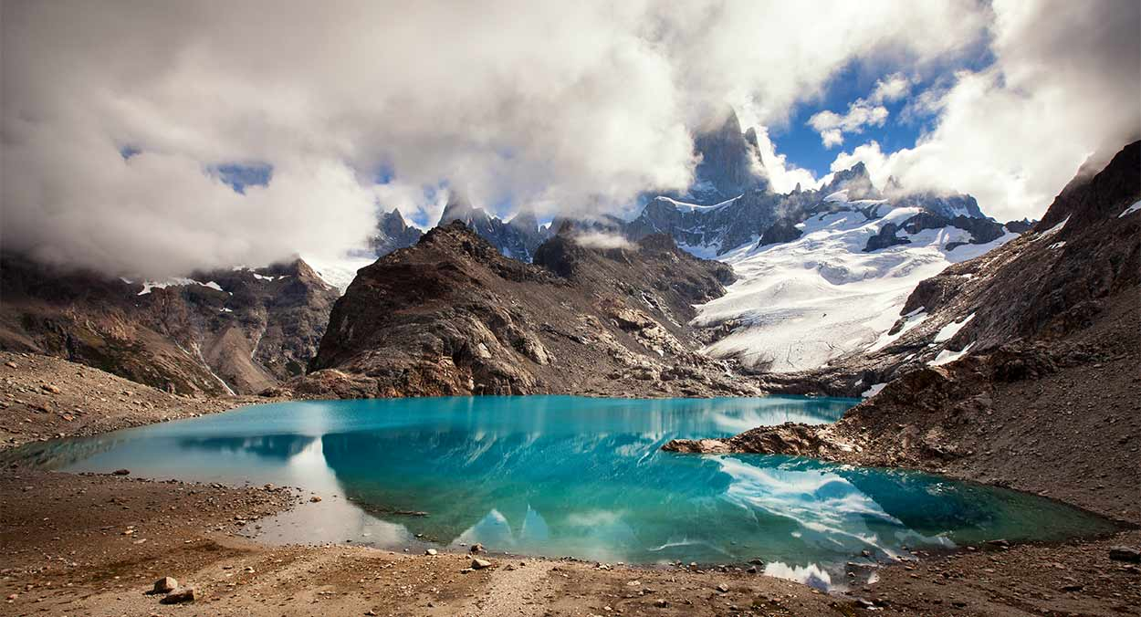 Laguna de los Tres - Almonroth - TURISMO ACTIVO EN PATAGONIA DE ARGENTINA Y CHILE