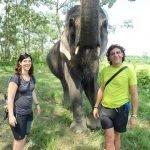 Testimonio de viaje a Nepal y Tíbet de María y Paco.: en parque nacional de Chitwan
