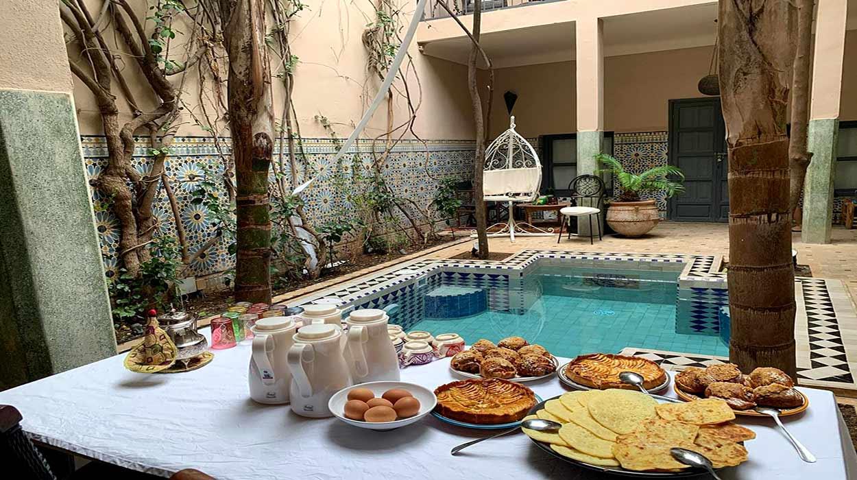Riad Adrar - riads de Marrakech