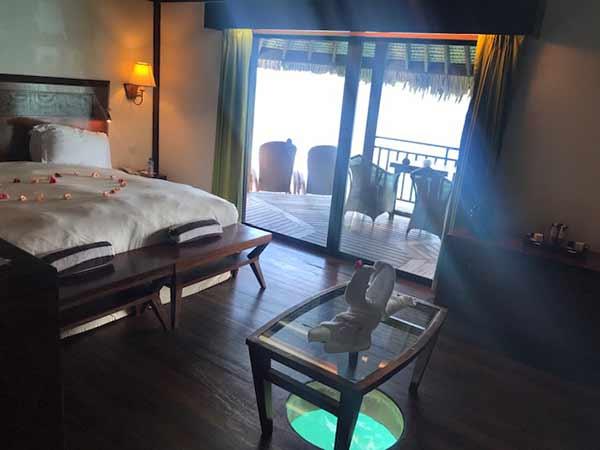 Testimonio de viaje a Polinesia de Arantxa y Samuel: Overwater Bungalow/Luxury Lodge en Sofitel Private Island Bora Bora
