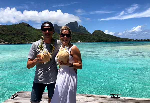 Testimonio de viaje a Polinesia de Arantxa y Samuel: en Sofitel Private Island Bora Bora
