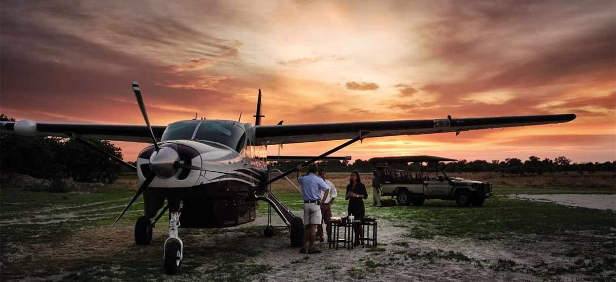 Safari de Gran Lujo en Botswana y Cataratas Victoria - Foto: cadena de lodges de lujo Belmond