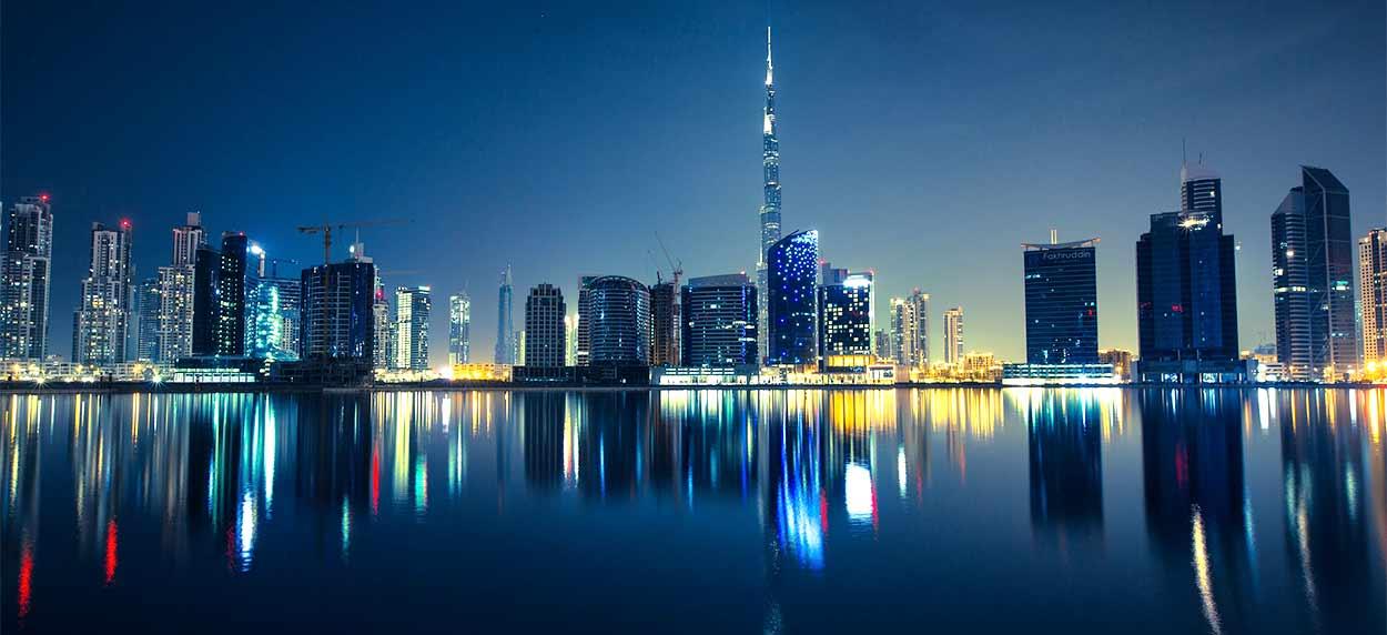 DUBAI SKYLINE - Imagen de Pexels en Pixabay