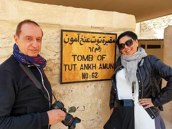 """Testimonio de viaje a Egipto de Sonia y Emilio: """"Muy recomendable realizar el viaje con asesoramiento y guías conocedores del lugar y su cultura, la gente, la gastronomía"""""""