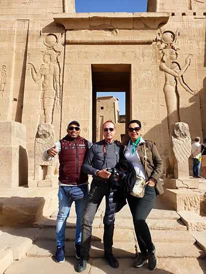 """Testimonio de viaje a Egipto de Sonia y Emilio: """"El guía del crucero, Ahmed, era muy agradable y entusiasta con su trabajo"""""""