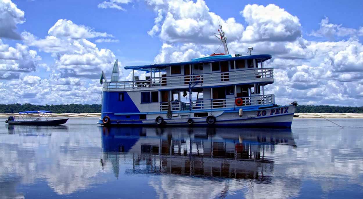 ecoturismo fluvial en el Amazonas en Lo Peix y Acqua