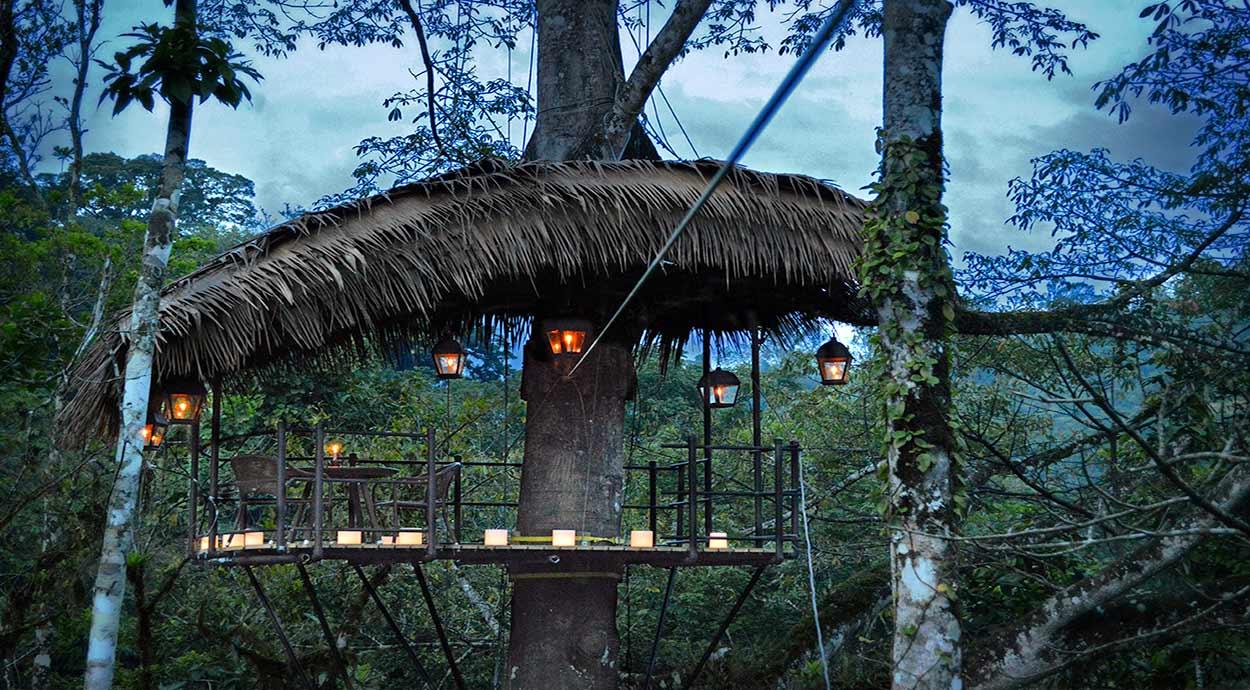 """COSTA RICA Y CARIBE - """"El Nido"""" (Pacuare Lodge)"""