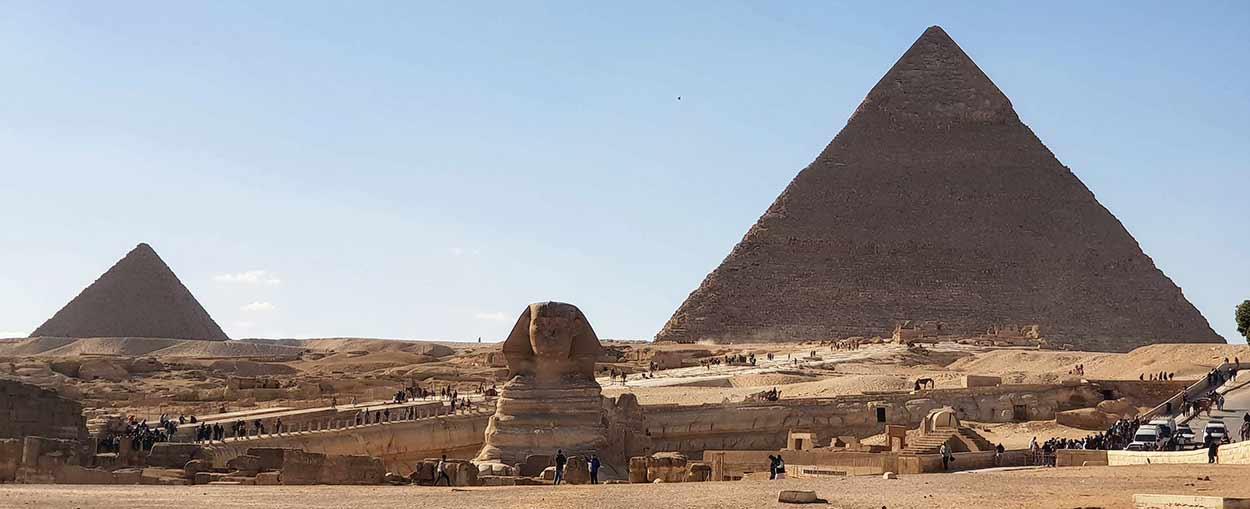Pirámides de Giza y Gran Esfinge - Testimonio de viaje a Egipto de Sonia y Emilio