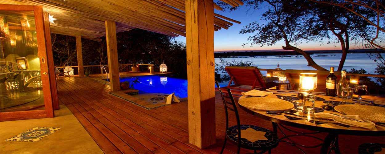 SAFARI DE GRAN LUJO EN BOTSWANA Y CATARATAS VICTORIA - Foto: Tongabezi Hotel