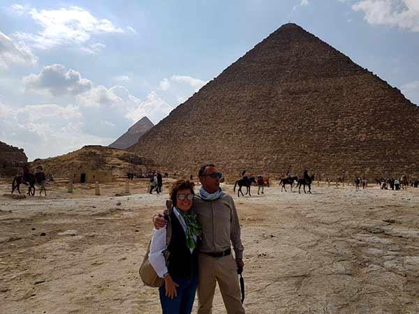 Valoración de Viaje a Egipto de Carmen y Ángel: Pirámide de Keops, en Giza