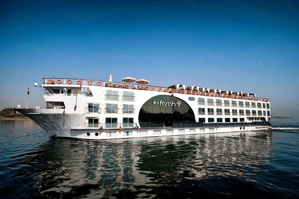 M/S Farah Nile Cruise, un crucero por el Nilo de lujo