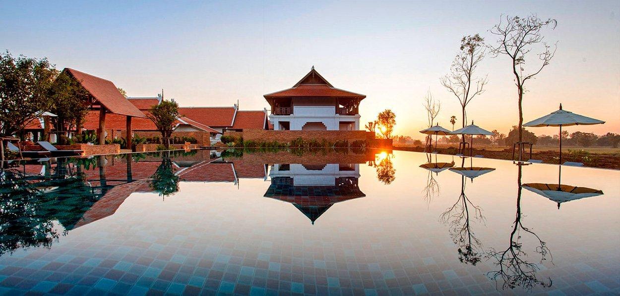 Hotel Sriwilai, en Sukhothai - Tour de Tailandia con salida garantizada