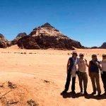 Testimonio de viaje a Jordania de Blanca y amigas: en Wadi Rum