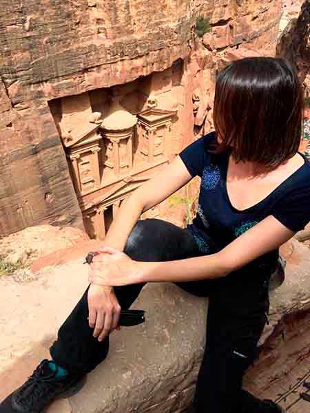 Testimonio de viaje a Jordania de Blanca y amigas: en Petra