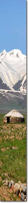 Textura Kirguistan - Ruta de la Seda