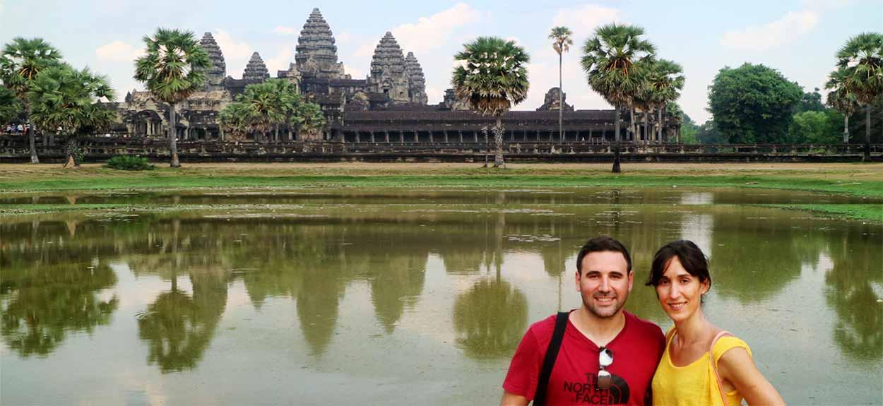 Reseña del viaje a Vietnam y Camboya de Sergio y Lucía: Angkor Wat en Camboya