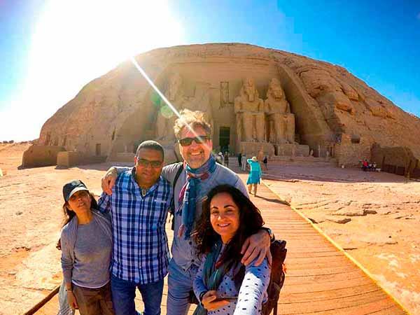Experiencia de viaje a Egipto de Anna, Elisabet y José Miguel, con guía durante el crucero