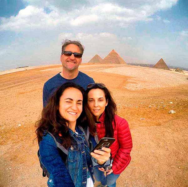 Experiencia de viaje a Egipto de Anna, Elisabet y José Miguel:- Tener la oportunidad de conocer la cultura del antiguo Egipto ha sido maravilloso y muy enriquecedor