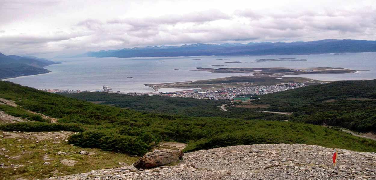 Qué ver y hacer en Ushuaia - Punto Panoramico Ushuaia - Claudio Elias