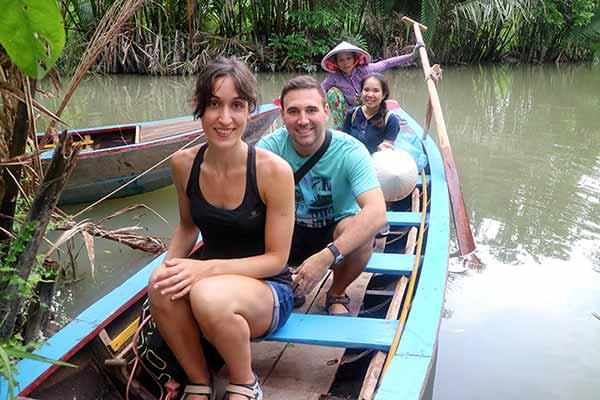 Reseña del viaje a Vietnam y Camboya de Sergio y Lucía: río Mekong
