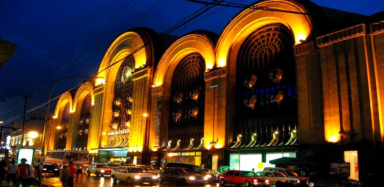 Centro comercial y de ocio dentro del antiguo mercado de Abastos - Guía de Buenos Aires