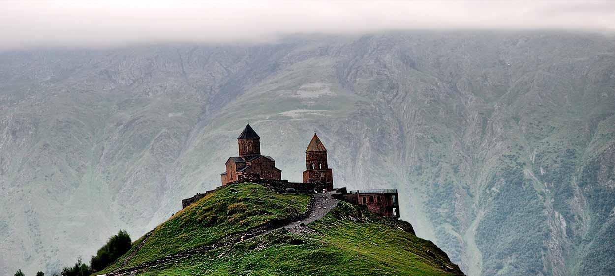 Testimonio de viaje a Armenia y Georgia: Iglesia de la Trinidad de Guergueti