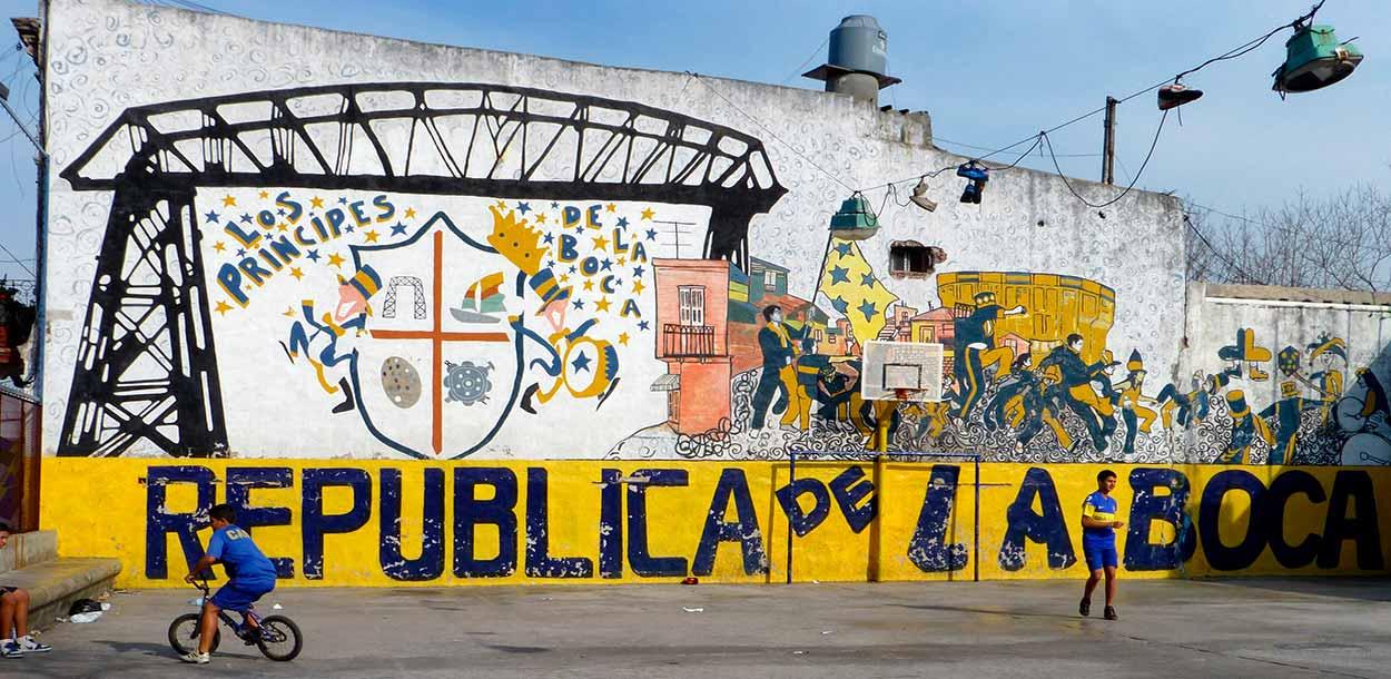 Republica de La Boca - Turismo de Buenos Aires