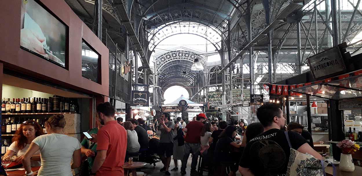 Mercado de San Telmo (Excursiones en Buenos Aires) - Josefito123