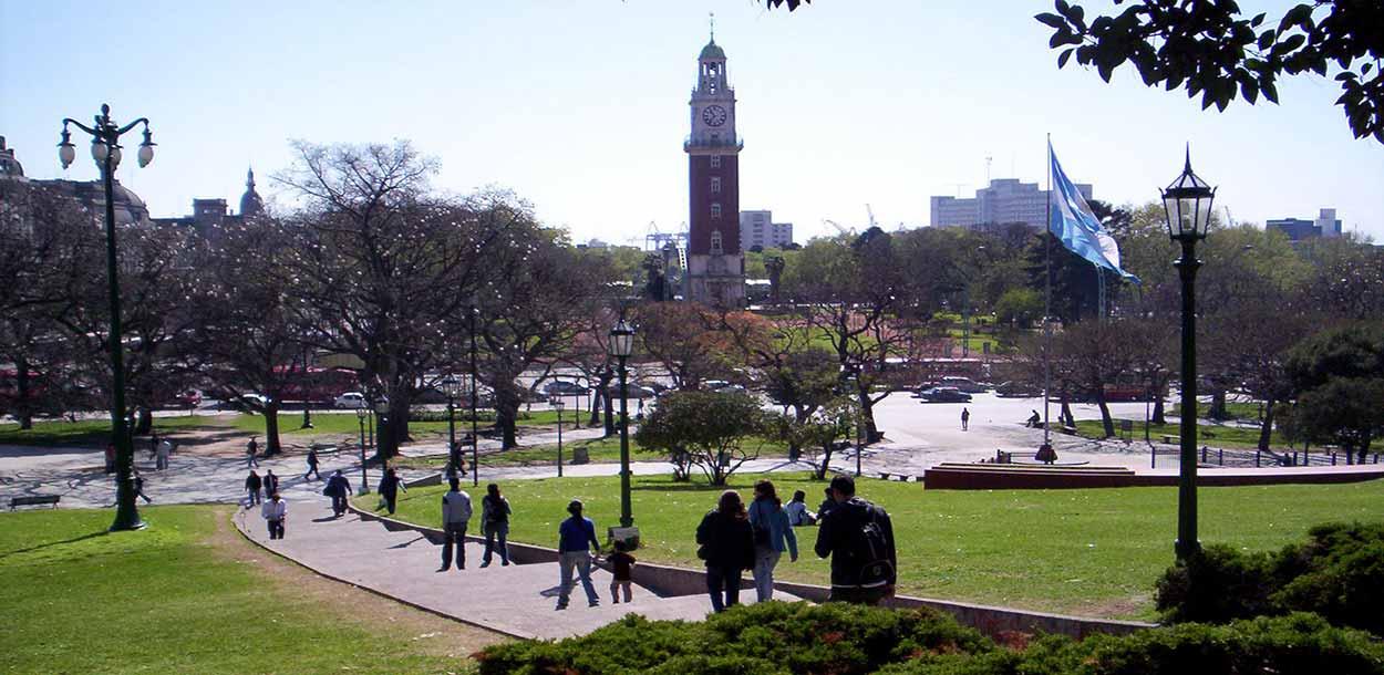Plaza San Martín - Banfield - Guía de Buenos Aires