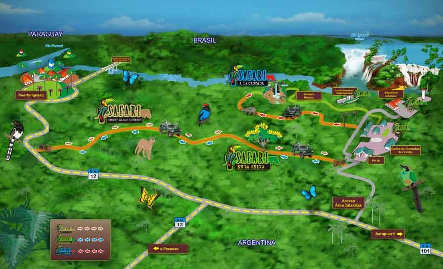 Ecoturismo en Iguazú: El Camino de los Pioneros - visitar las cataratas de Iguazú