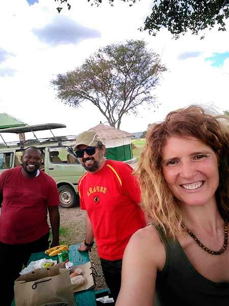 Valoración del viaje a Uganda de Ana y familia, con guía