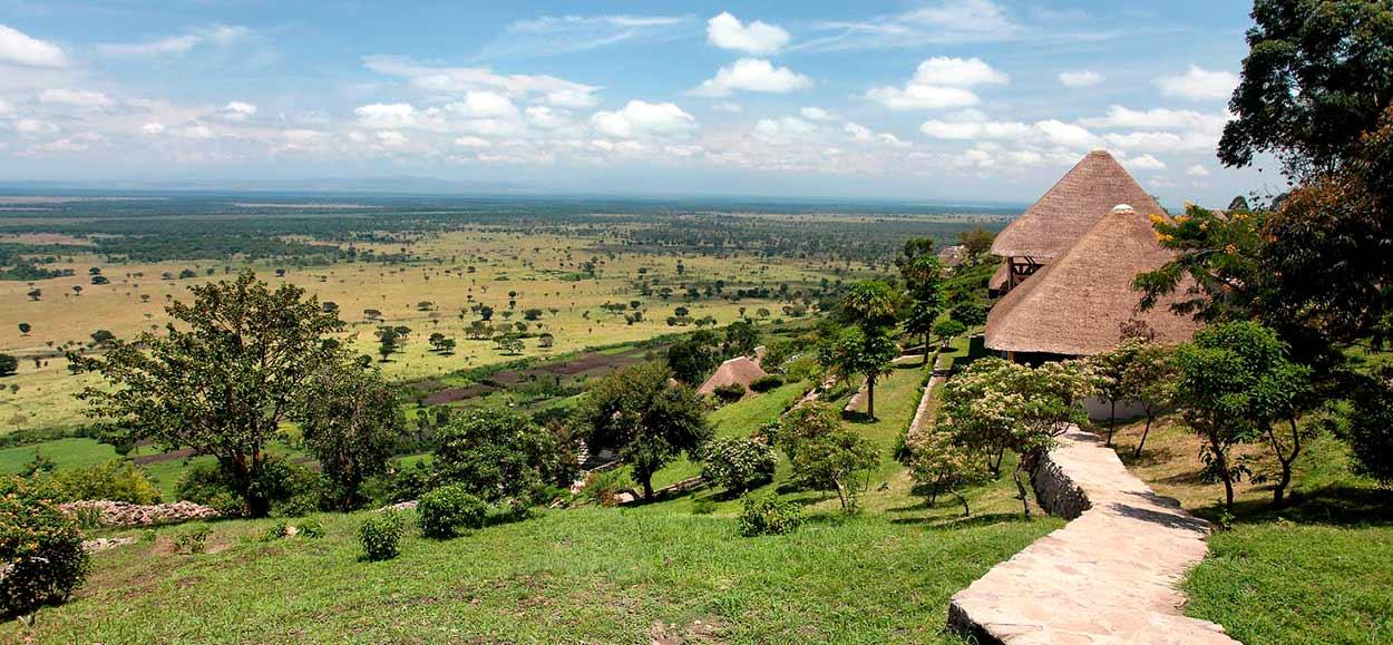 Enganzi Lodge (Queen Elizabeth N.P.) - Safari Uganda esencial