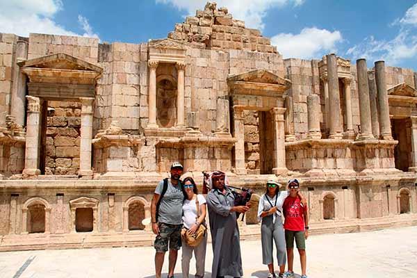 Valoración de Viaje a Jordania de Ana y familia: en Jerash