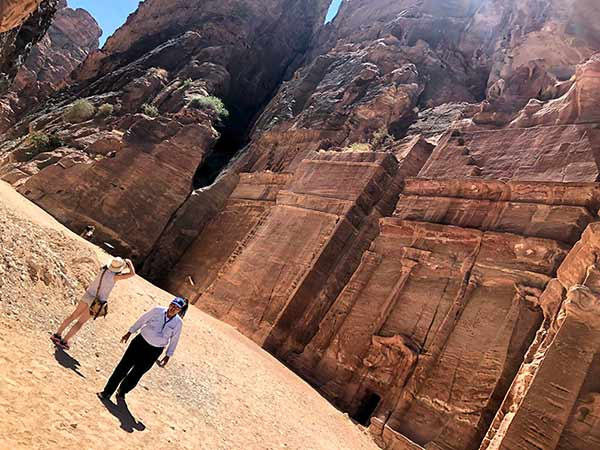 Valoración de Viaje a Jordania de Ana y familia: en Petra