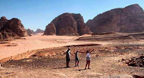 Valoración de Viaje a Jordania de Ana y familia: en Wadi Rum