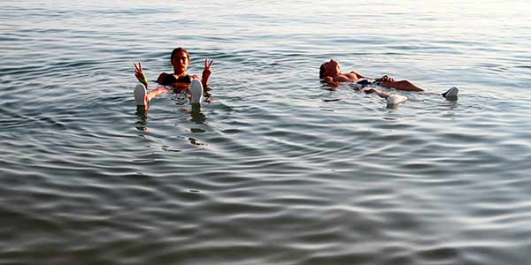 Valoración de Viaje a Jordania de Ana y familia: en Mar Muerto