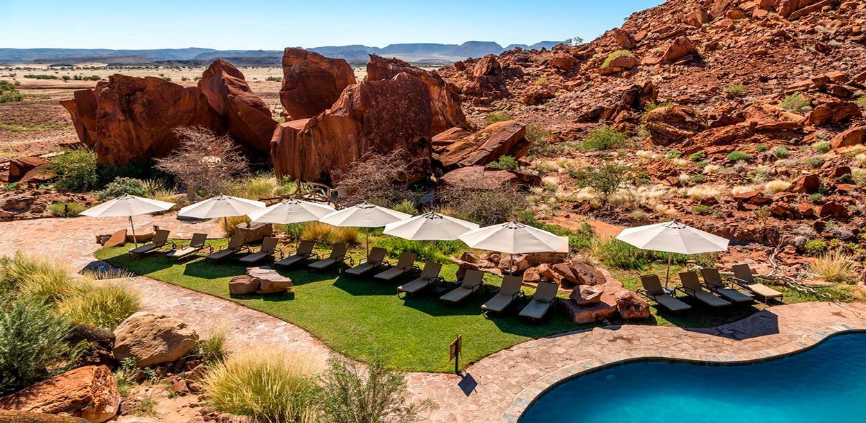 Twyfelfontein Lodge - NAMIBIA FLY AND DRIVE
