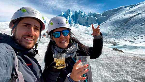 Testimonio de viaje a Argentina de María y Fran: trekking del glaciar Perito Moreno