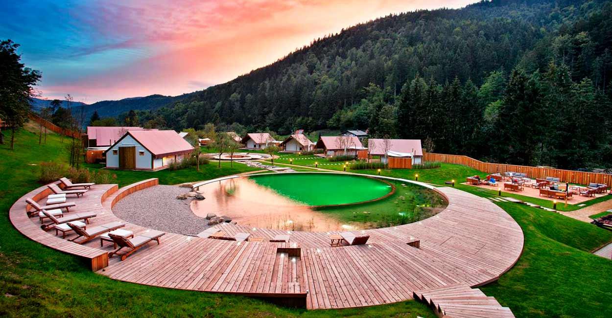 HERBAL GLAMPING LJUBNO - Naturaleza de Eslovenia fly & drive