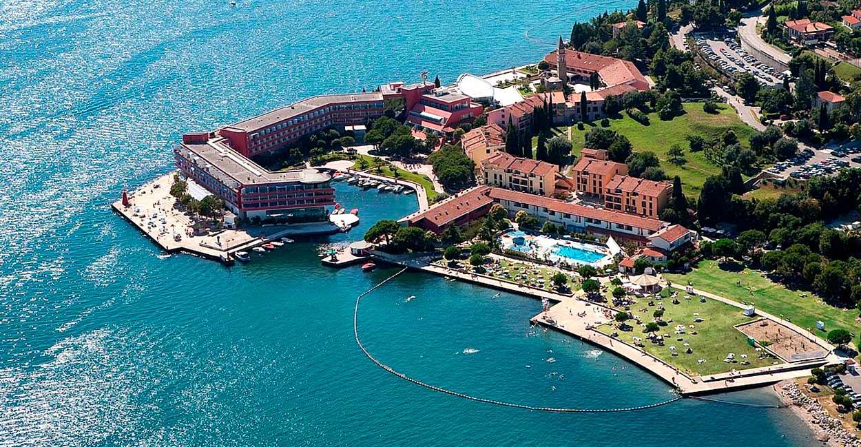 Hotel Histerion (Portorož, Costa Eslovena) - Eslovenia de Los Alpes al mar fly & drive