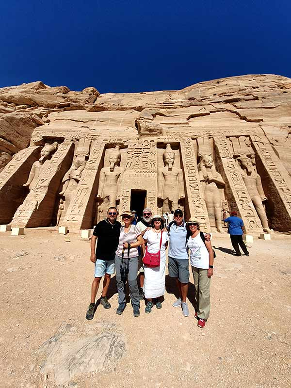 viaje a Egipto deManel, Cati, Anna, Jaume, Magda y Vicenç