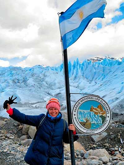 Opinión de Viaje a Argentina y Chile de María Luisa: frente al glaciar Perito Moreno