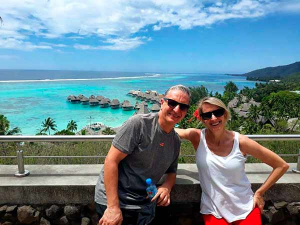 Reseña de viaje a Polinesia de Leticia y Alberto