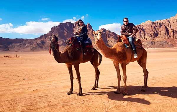Experiencia de viaje a Jordania de Yolanda y Javier: en Wadi Rum