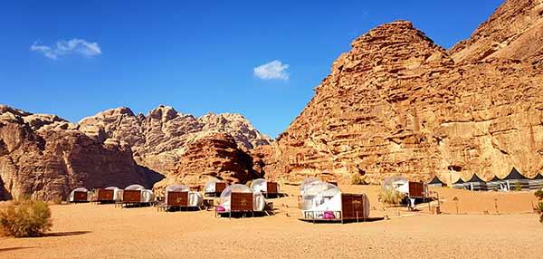 Luxury Camp Wadi Rum (foto hecha por Yolanda y Javier) - Experiencia de viaje a Jordania