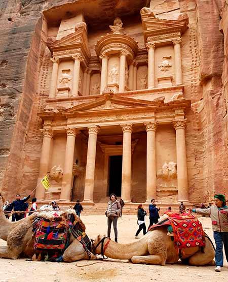 Experiencia de viaje a Jordania de Yolanda y Javier: en Petra