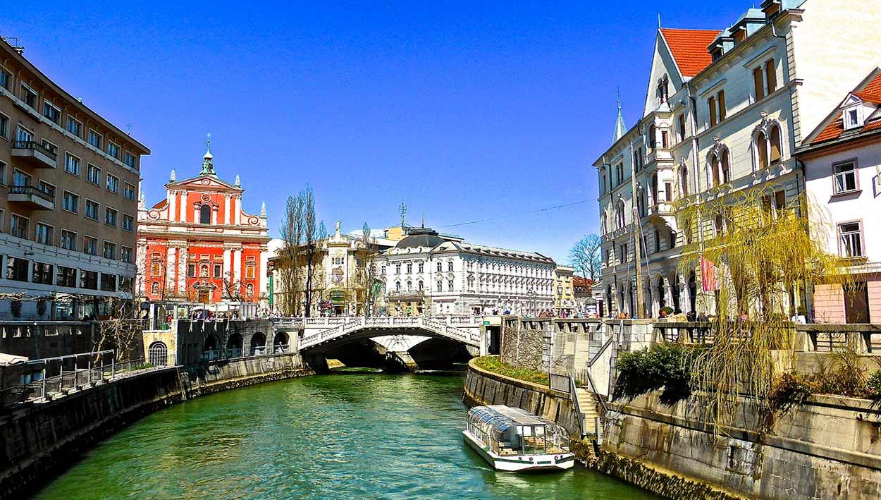 Liubliana, capital de Eslovenia; Viaje a Eslovenia en Semana Santa 2020