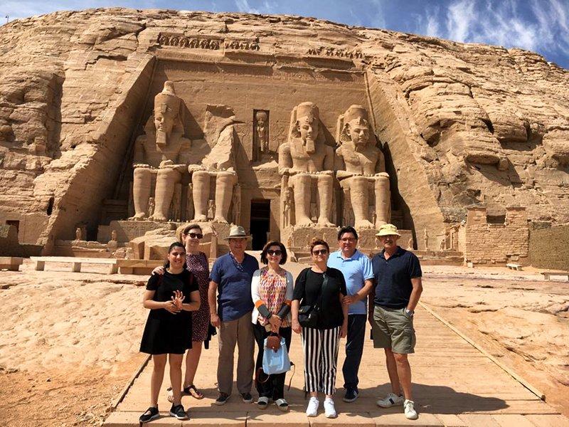 Viaje a Egipto de Regina, familia y amigos 03