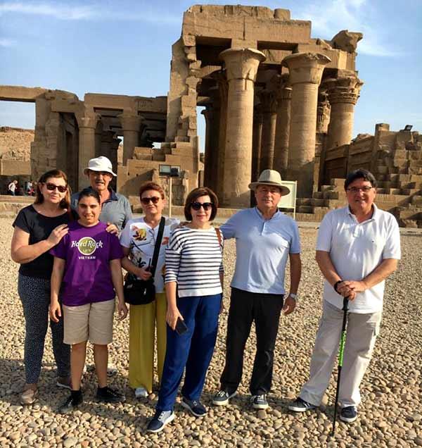 Testimonio del Viaje a Egipto de Regina, familia y amigos: en Kom Ombo